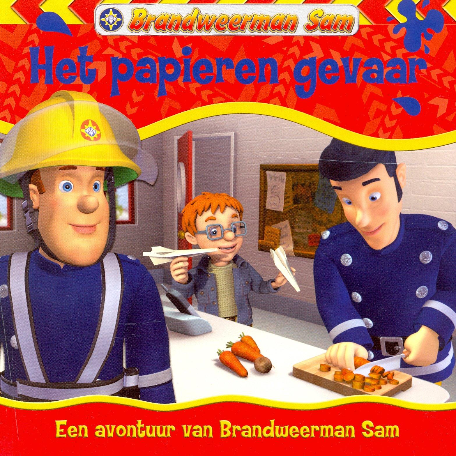 Brandweerman Sam Het Papieren Gevaar